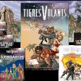 La gamme du jeu Tigres Volants inclut: Le livre de base (320 pages). L'écran et son livret de 32 pages, Entre deux eaux. La Bibliothèque tachyonique #1: Copacabana Transit, supplément […]