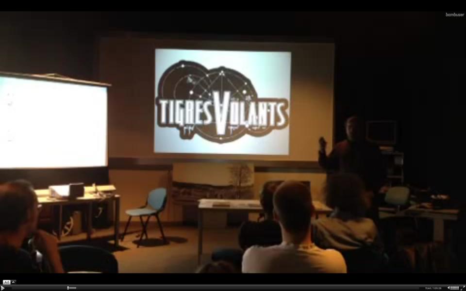 Conférence Tigres Volants à Ludesco