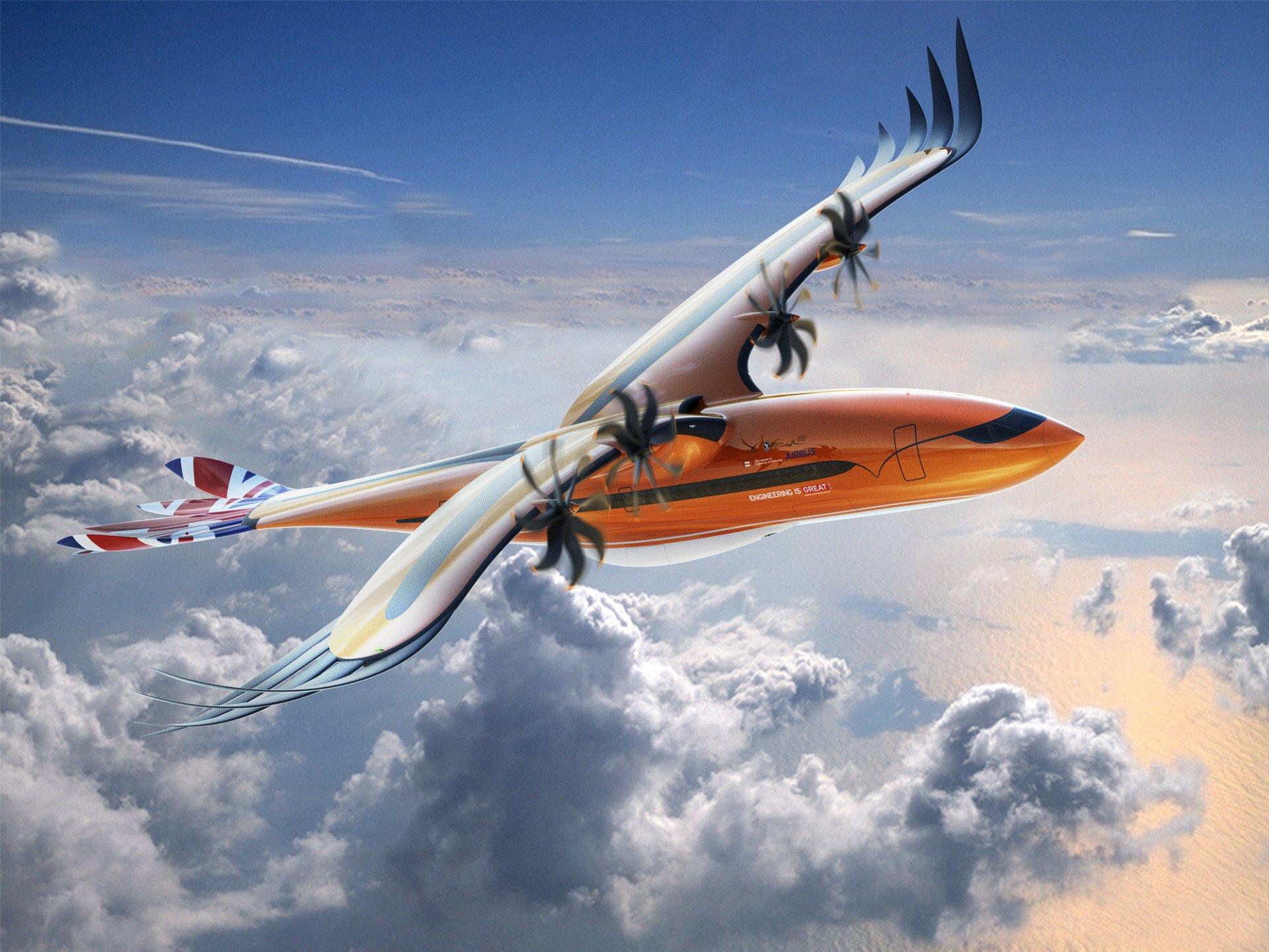 L'avion eyldarin, vu par des Terriens